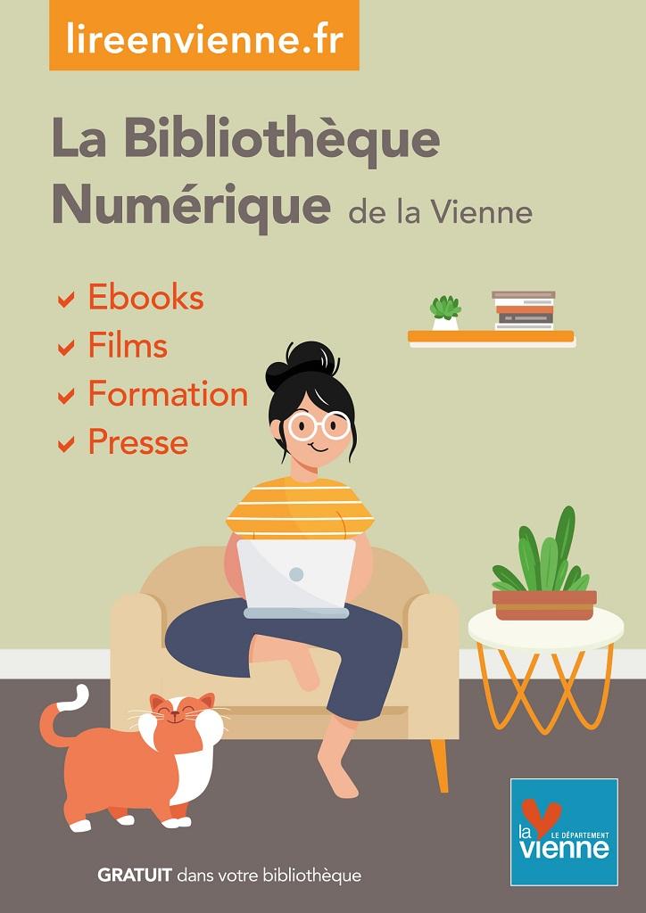 Livres, films, presse en ligne accessibles gratuitement